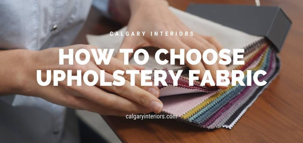 fabric choosing for upholstery