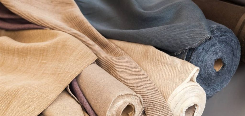 Linen is great for Upholstery