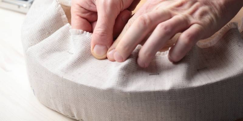 Polyester Upholstery Fabric Post